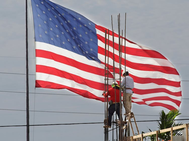 american workers and a flag gm123264454 4556680 Large