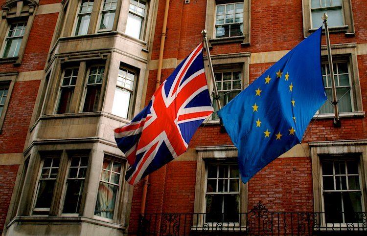 Europe UK flags Large