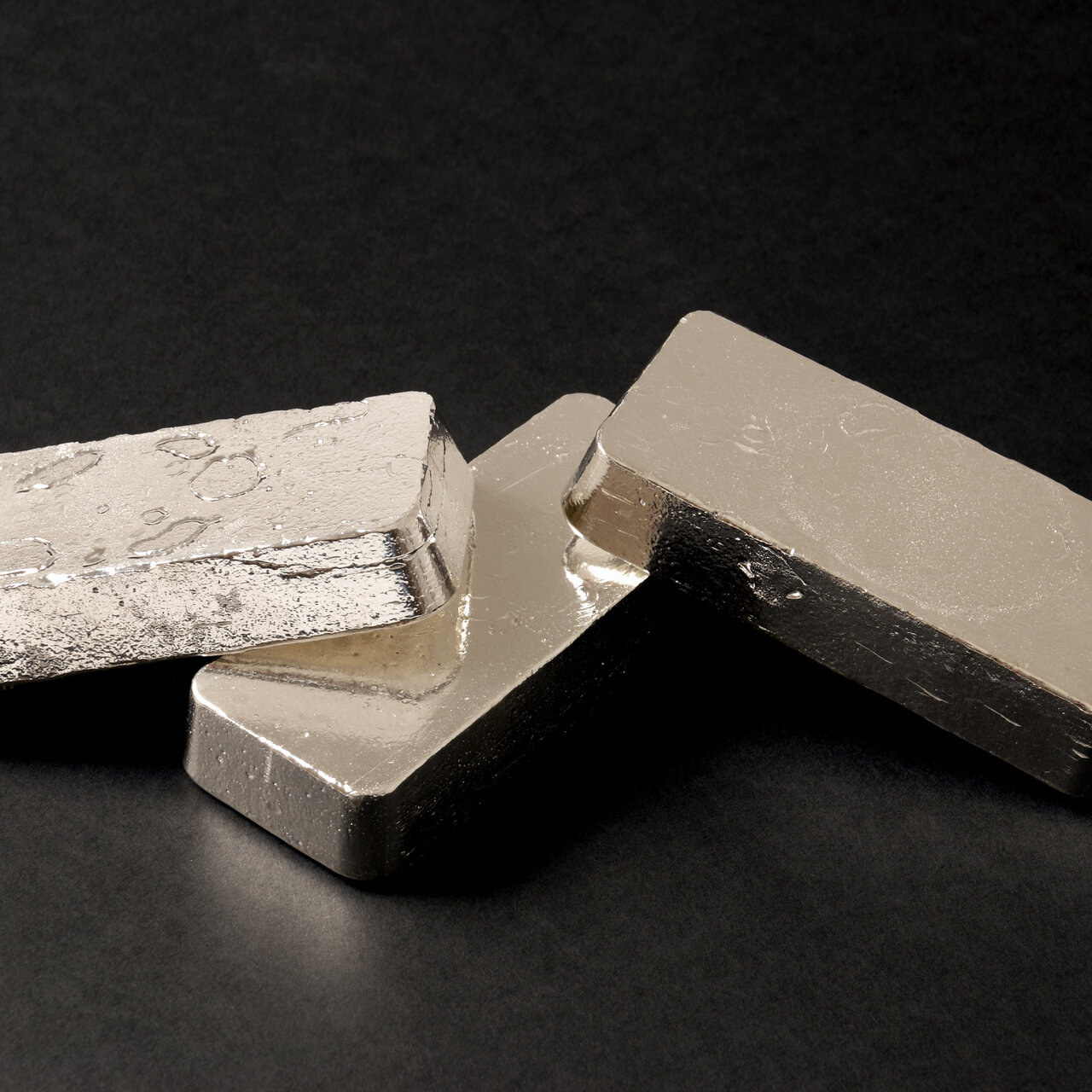 Physical silver bullion