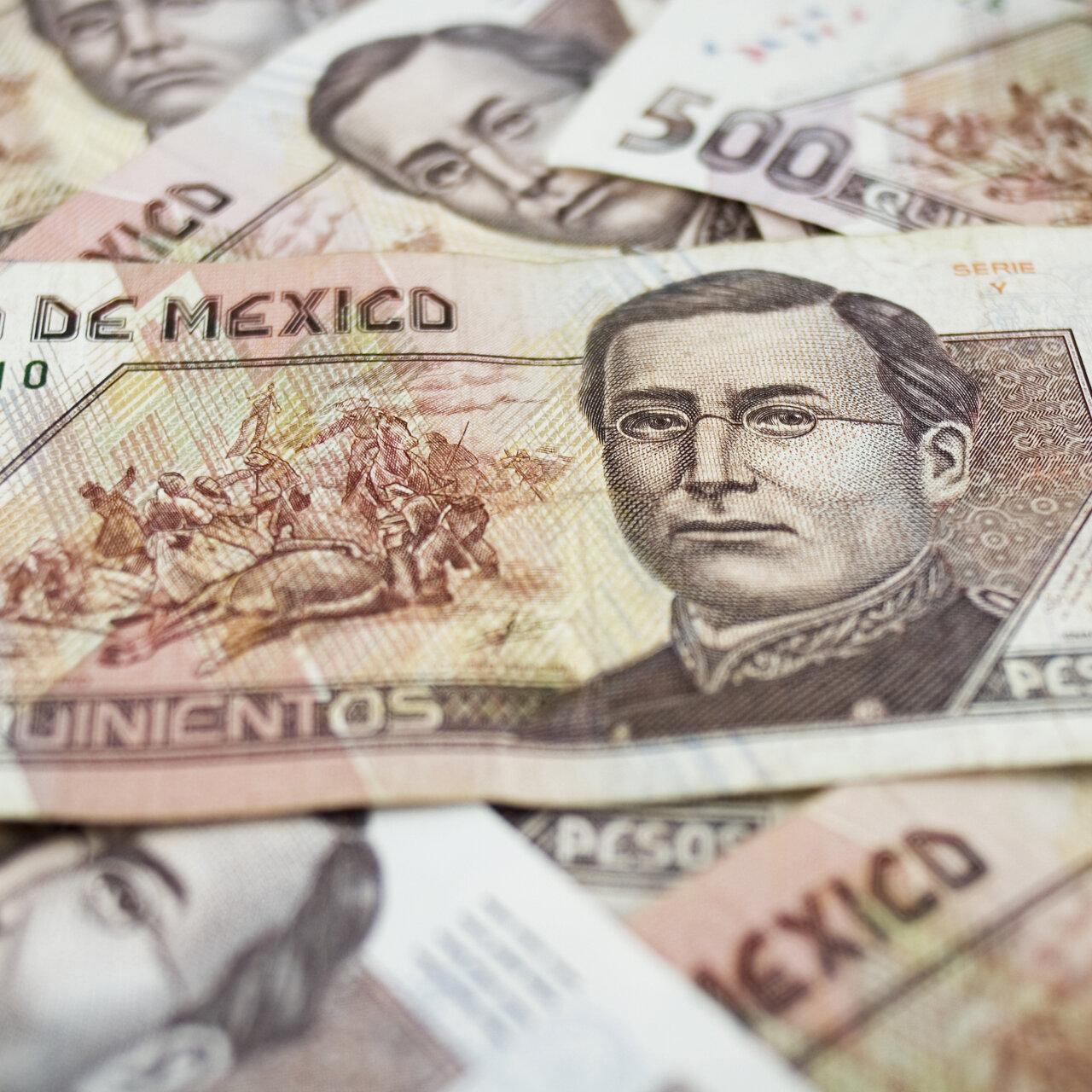 Risk Aversion Hits Mexican Peso