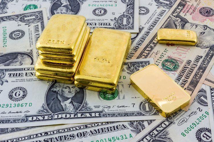 XAU/USD tumbles to 2021 lows near $1,770
