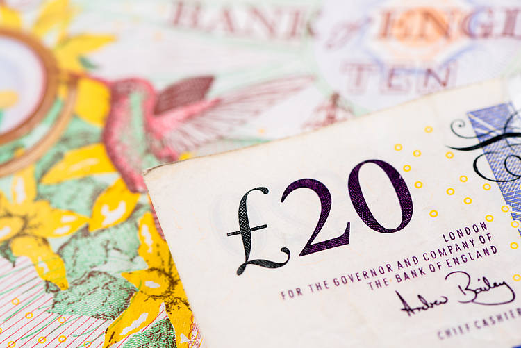 GBP/USD holds steady above 1.2800 mark, moves little post-UK macro data