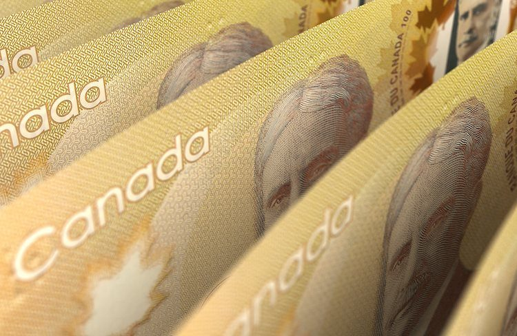 The loonie holds its own