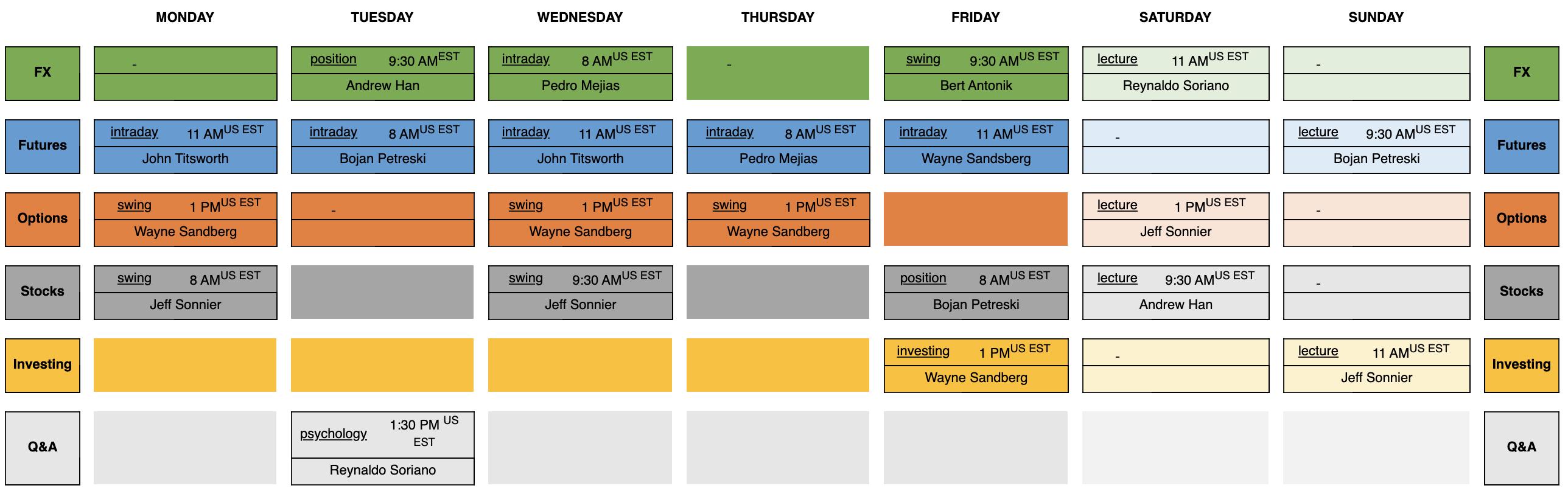 schedule webinars