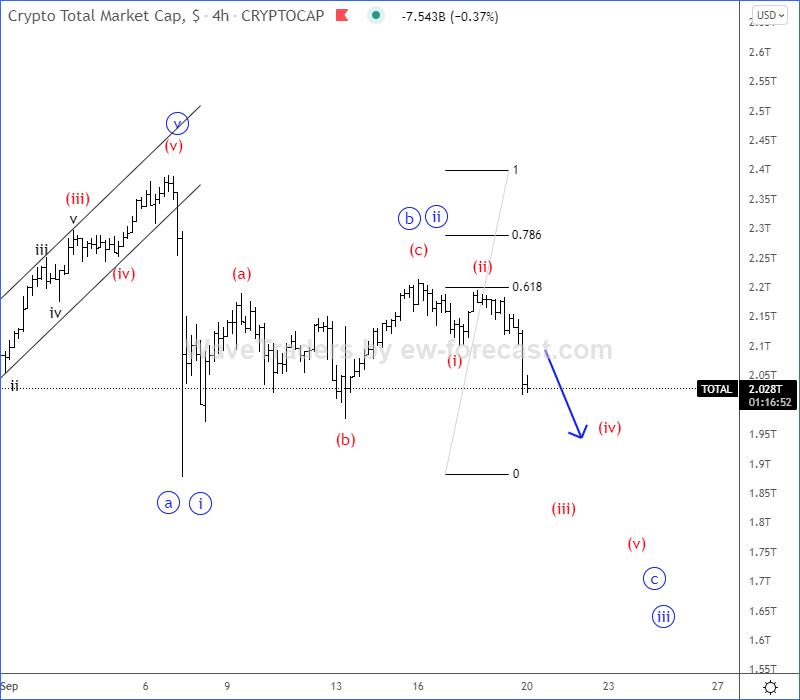 Crypto Total Elliott Wave
